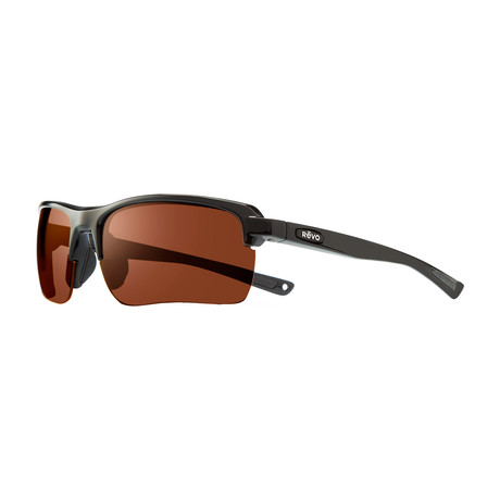 Unisex Crux C Polarized Sunglasses // Black + Open Road