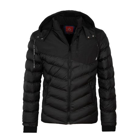Down Winter Coat // Black (S)