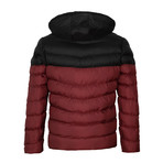 Down Winter Coat // Bordeaux (L)