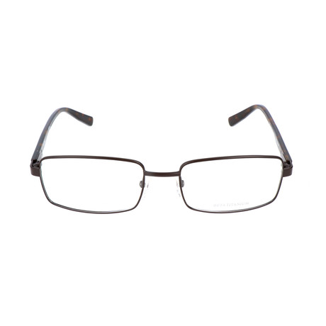 Pierrer Cardin Men's Optical // 6815 // Matte Brown + Dark Havana
