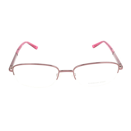 Pierrer Cardin Women's Optical // 8813 // Pink Transparent Cherry