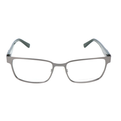 Pierrer Cardin Men's Optical // 6816 // Matte Dark Ruthenium + Gray Green
