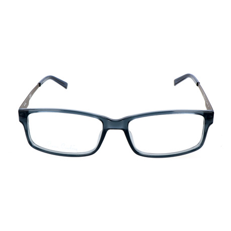 Pierrer Cardin Men's Optical // 6159 // Solid Blue Ruthenium