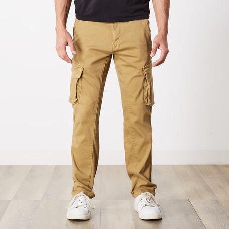 Slim Fit Cargo Pant // Brown (30WX30L)