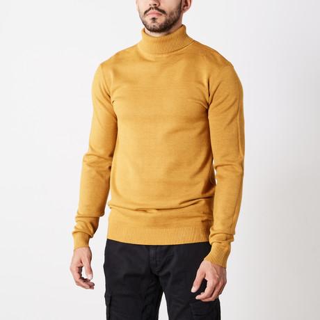Classic Turtle Neck Sweater // Mustard (S)
