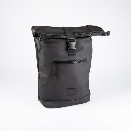Exapandable Waterproof Backpack // Black