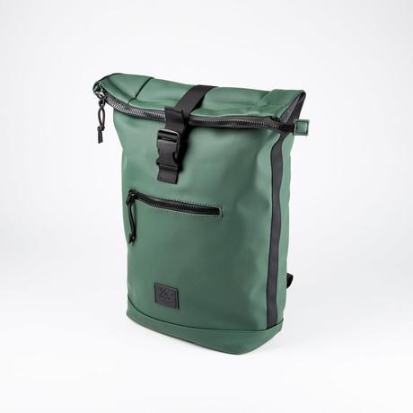 Exapandable Waterproof Backpack // Dark Olive