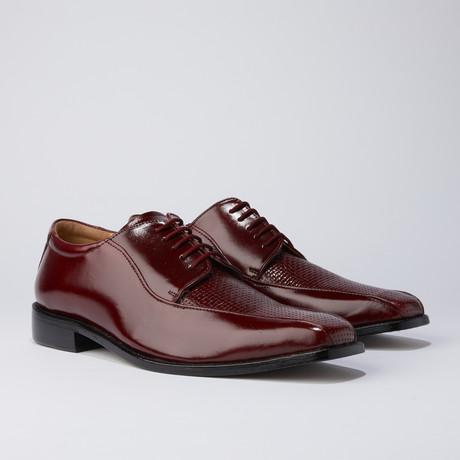 Jade Dress Shoes // Burgundy (US: 6.5)