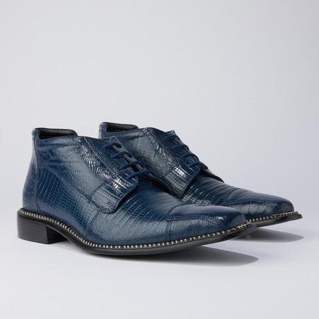 Foxx Dress Shoes // Navy Blue (US: 7)