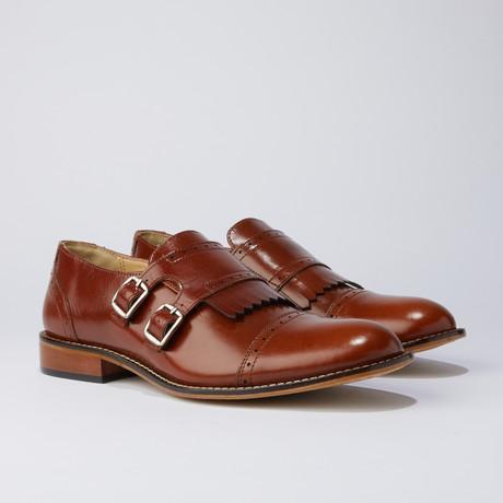 Auburn Dress Shoes // Tan (US: 7)