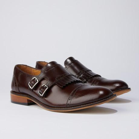 Auburn Dress Shoes // Brown (US: 6.5)