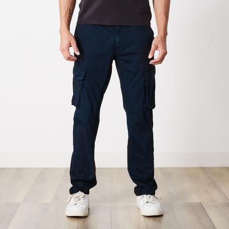 Slim Fit Cargo Pant // Navy (30WX30L)