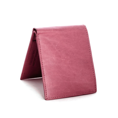 Leather RFID Wallet // Merlot