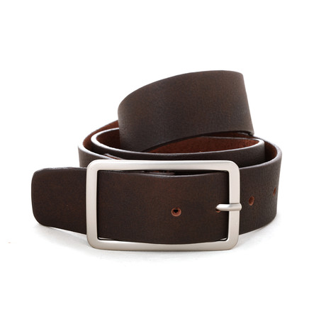 "West Belt // Dark Brown (Size 32"")"