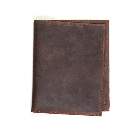 Leather Portfolio // Brown