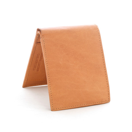 Leather RFID Wallet // Latte