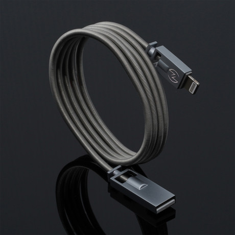 LOKI Charging Cable // Mystic Silver (Apple Lightning // 3.3 ft)
