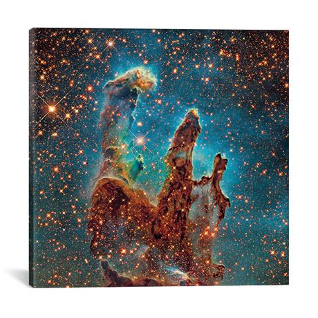 "M16, The Eagle Nebula (NGC 6611) II // Robert Gendler (18""W x 18""H x 0.75""D)"