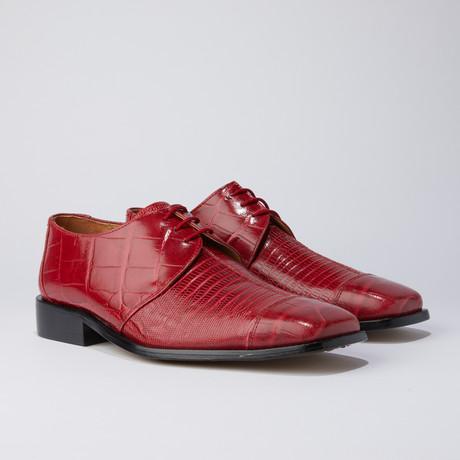 Cassanova Dress Shoes // Red (US: 7)