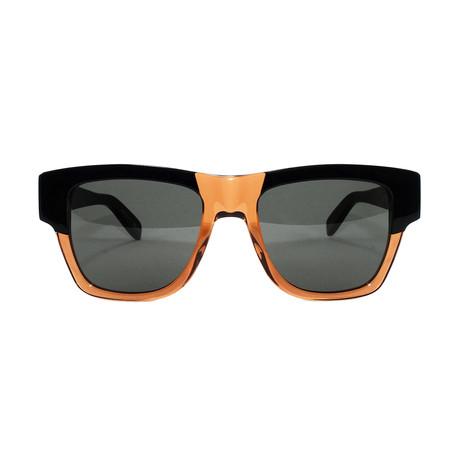 Yves Saint Laurent Unisex Sunglasses // SL 142 // Black + Brown