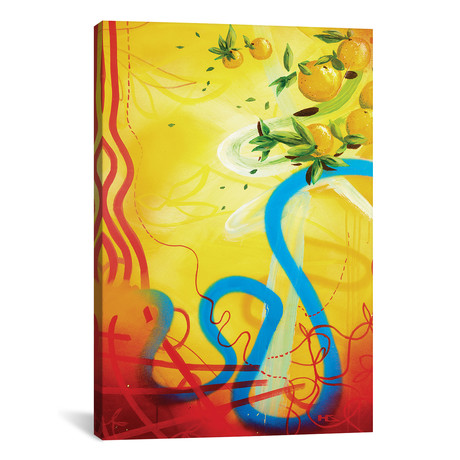 "Costa del Sol // Harry Salmi (18""W x 26""H x 0.75""D)"