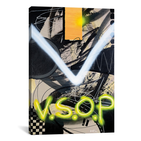 "V.S.O.P // Harry Salmi (18""W x 26""H x 0.75""D)"