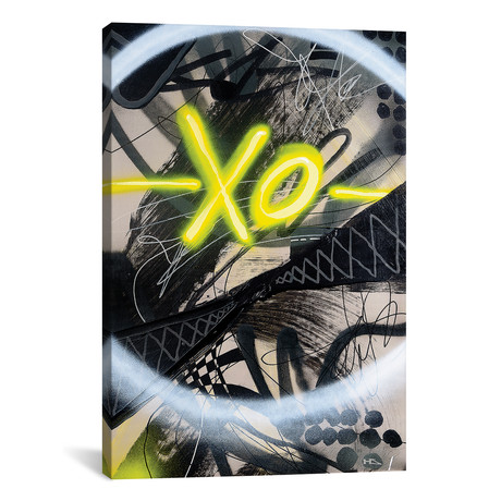 "Extra Old // Harry Salmi (18""W x 26""H x 0.75""D)"