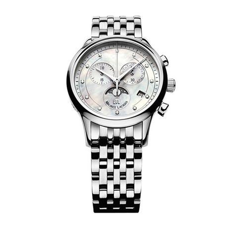 Maurice Lacroix Ladies Les Classiques Chronograph Quartz // LC1087-LC1087-SS002-160 // Store Display