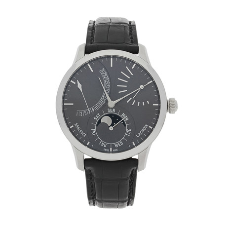 Maurice Lacroix Masterpiece Lune Retrograde Automatic // MP6528-SS001-330 // Store Display