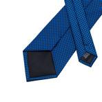 Biella Silk Dress Tie // Blue