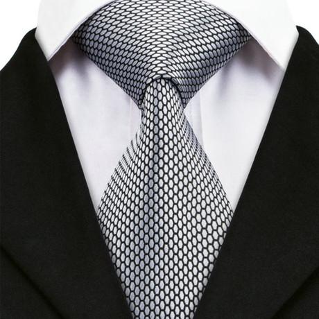 Bergamo Silk Dress Tie // Black