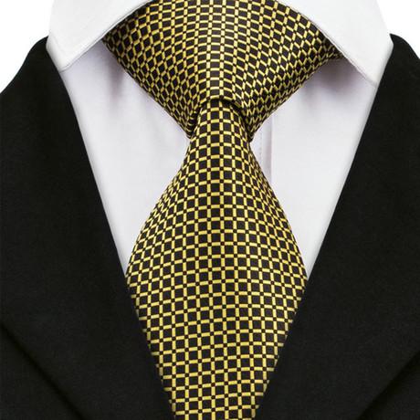 Caltanissetta Silk Dress Tie // Gold
