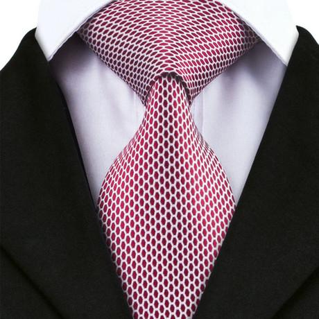 Bolzano Silk Dress Tie // Red