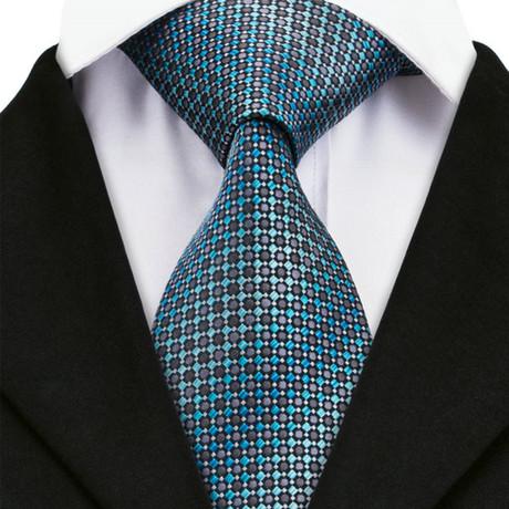 Campobasso Silk Dress Tie // Teal