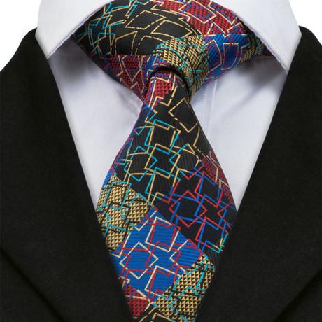 Agrigento Silk Dress Tie // Multicolor