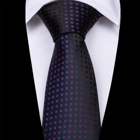 Cremona Silk Dress Tie // Black