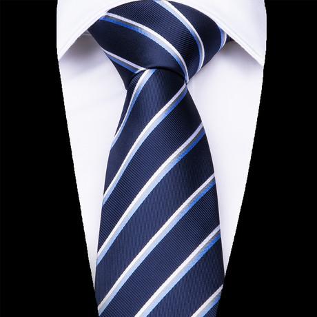 Como Silk Dress Tie // Navy Blue
