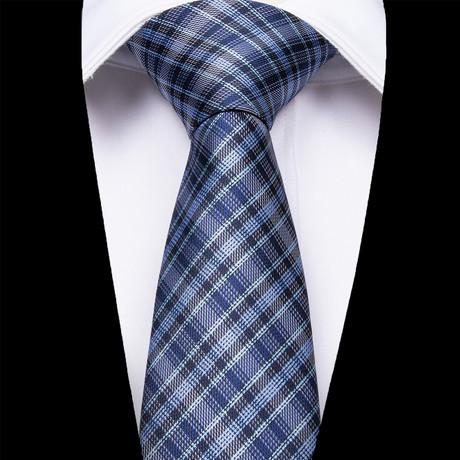 Crotone Silk Dress Tie // Blue