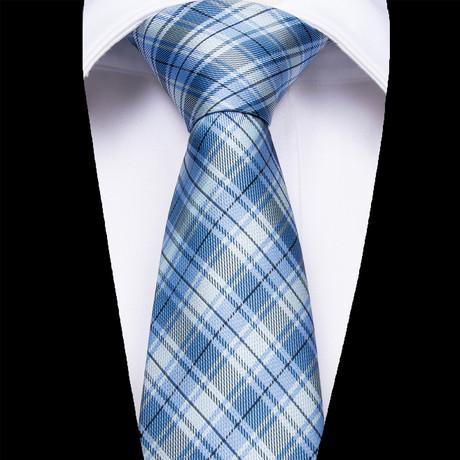 Catania Silk Dress Tie // Blue