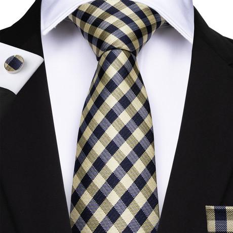 Frosinone Silk Dress Tie // Yellow