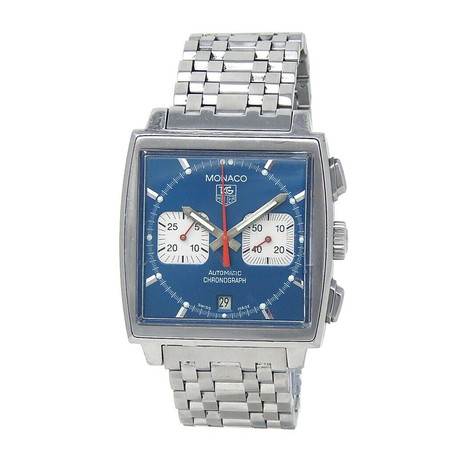 Tag Heuer Monaco Chronograph Automatic // CW2113.BA0780 // Pre-Owned