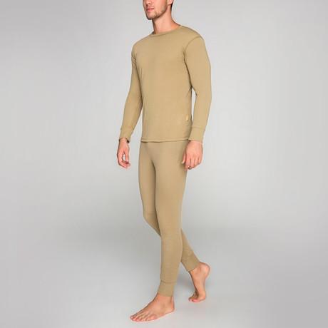 Thermal Underwear Set // Sand (S)
