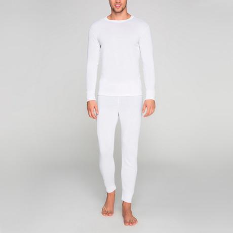 Thermal Underwear Set // White (S)