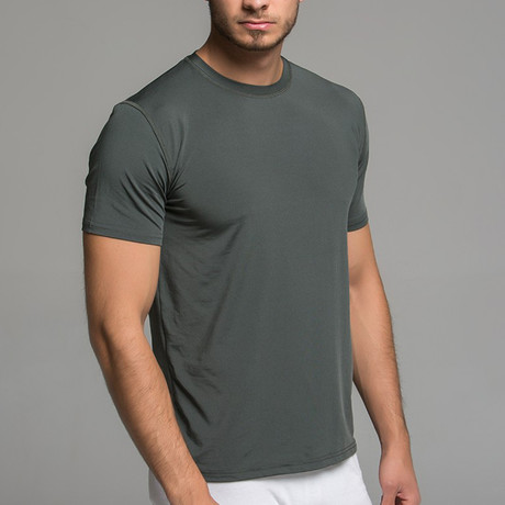 Short Sleeve Shirt // Dark Gray (S)