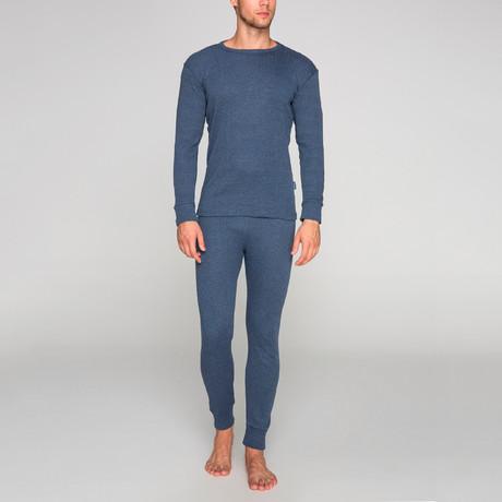 Thermal Underwear Set // Blue (S)