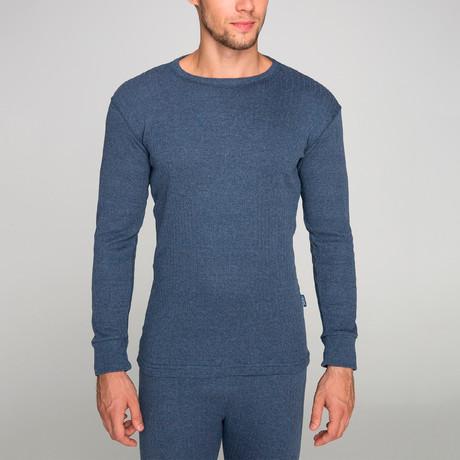 Long Sleeve Undershirt // Blue (S)