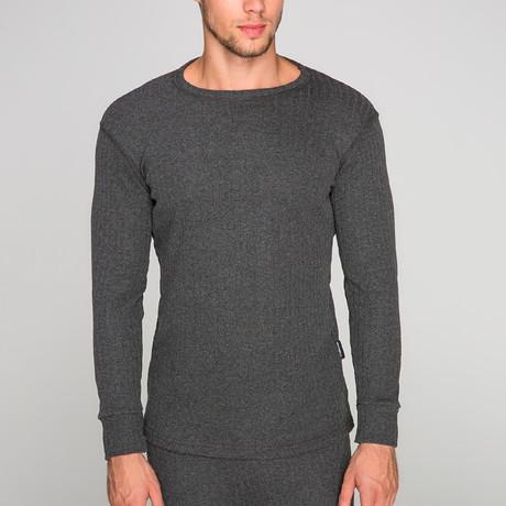 Long Sleeve Undershirt // Anthracite (S)