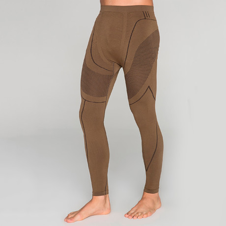 Athletic Tights // Brown (S-M)