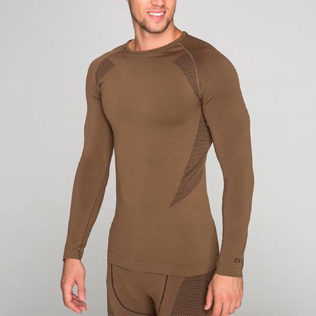 Long Sleeve Shirt I // Brown (S-M)