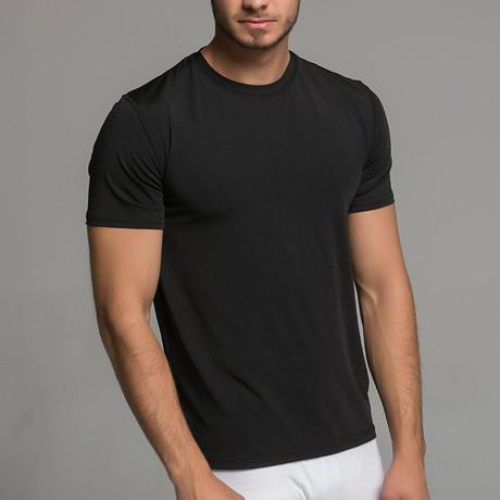 Short Sleeve Shirt // Black (S)